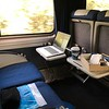 Seat View on Amtrak Superliner upper deck