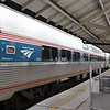 Amtrak Silver Star Train No. 92 at Tampa Union Station. Amerail Viewliner I Sleeping Car No. 62029