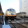 SunRail MPI locomotive MP36PH-3S No. 102 at Florida Hospital Health Station