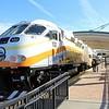 SunRail MPI locomotive MP36PH-3S No. 102 at Sand Lake Road Station