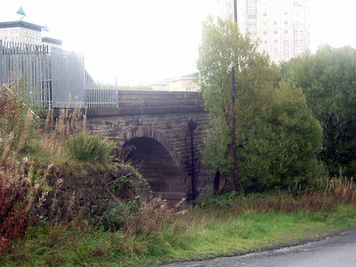 Cartsburn Viaduct from Upper Cartsburn Street