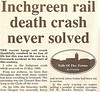 Article from the Greenock Telegraph from 25th July 1995 about the Inchgreen rail crash of 1900