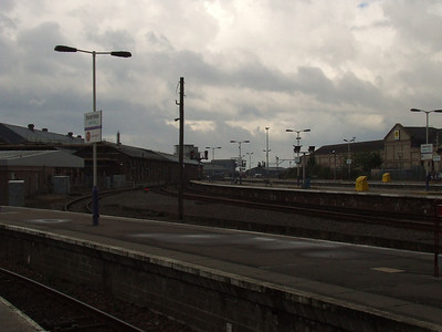 Inverness Station, looking South