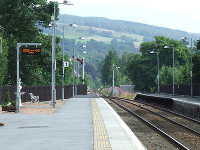 Pitlochry Station, P1, Southbound