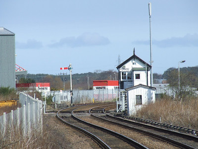 Forres SB as seen from Forres Station
