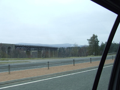 Findhorn Viaduct on the Inverness & Aviemore Direct Railway.