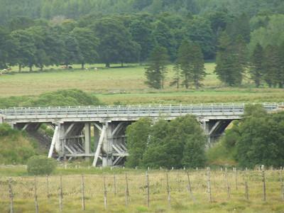 Allt na Slanaich Viaduct near Moy
