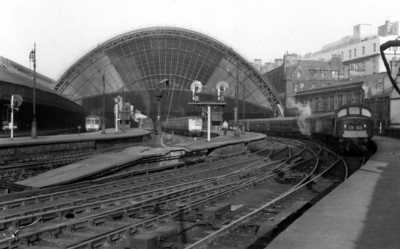 St. Enoch Glasgow City of Glasgow Union Railway Opened 1876 Closed 1966 (Glasgow & South Western Railway 1883 - 1923 LMS 1923 - 1947 British Railways 1948-1966)