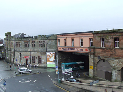 Paisley Gilmour Street, view from County Square