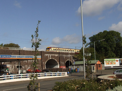 The railway bridge at Linwood Tool on the main Paisley to Johnstone line in Paisley