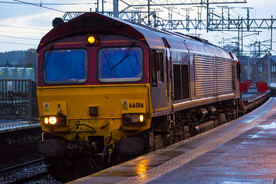 66016 DBS (EWS livery) Paisley Gilmour Street 18/02/2016