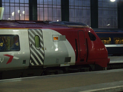 221135 of CrossCountry at P2 to form a service to Newcastle
