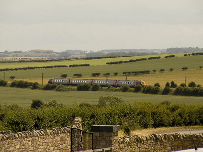 A CrossCountry Voyager heading North through Beal