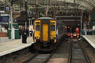 156504 at P11 arrived with a service from Barrhead