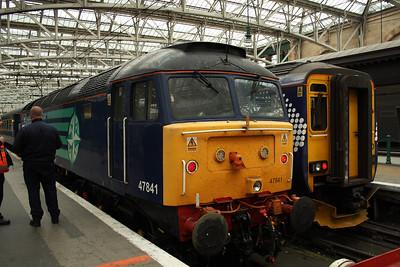 47841 at the buffer stops at P10