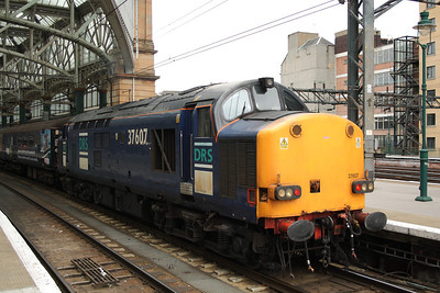 37607  with a Crusie Saver Special coaching stock at P10.