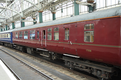 Mark 1 coaching stock (17056) as used on the Cruise Saver Express including the luggage compartments