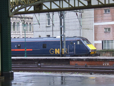GNER DVT 82227 at Platform 1 waiting to depart to London Kings Cross