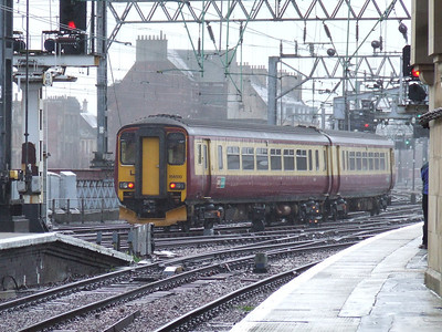 156510 departing Glasgow Central
