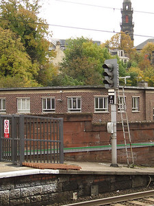Signals at P4 of Paisley Gilmour Street