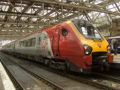 221101 Louis Bleriot at P4 of Glasgow Central