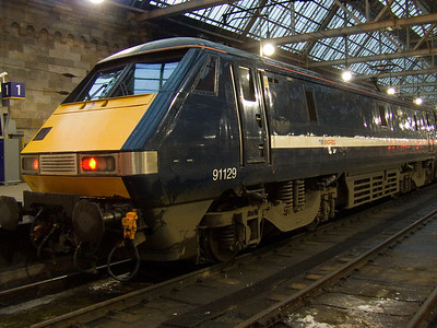 91129 at P2 of Glasgow Central