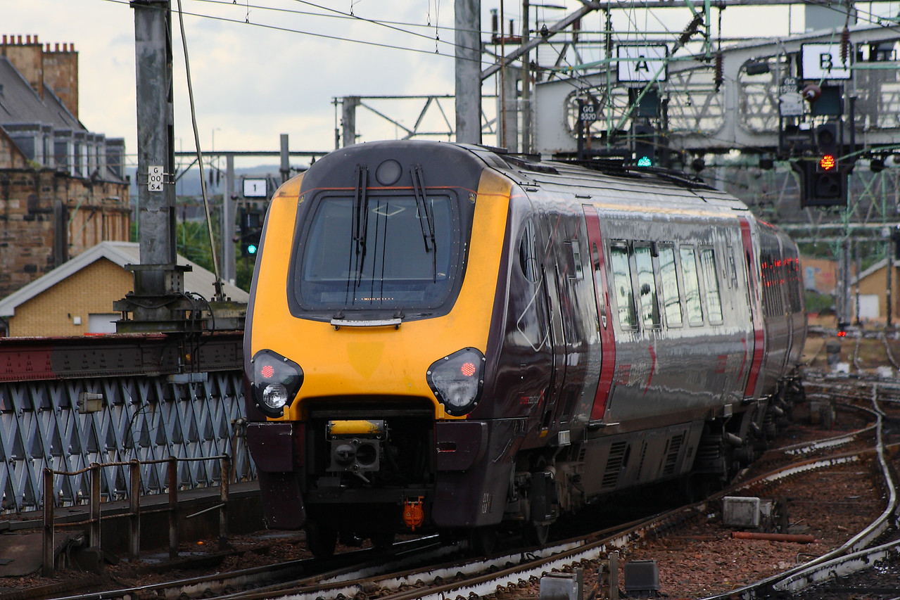 221123, departing for Plymouth Glasgow Central (High Level) Glasgow 08/07/2014