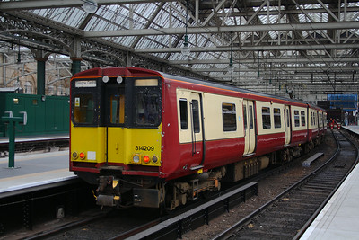 314209 Glasgow Central (High Level) Glasgow 08/07/2014