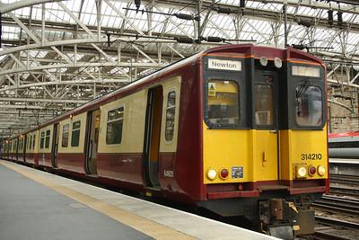 314210 Glasgow Central (High Level) Glasgow 27/01/2014