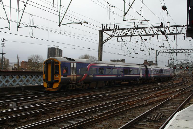 158733<br /> Glasgow Central (High Level)<br /> Glasgow<br /> 27/01/2014