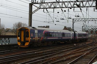 158733 Glasgow Central (High Level) Glasgow 27/01/2014
