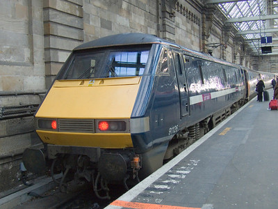 91126 at P2 of Glasgow Central