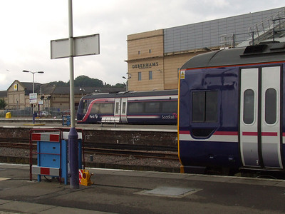 170395 and 158717 at Inverness waiting their next turn of duty