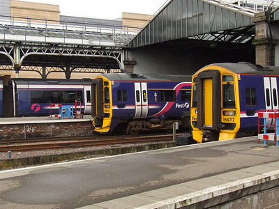 158713 and 158717 at Inverness waiting their next turn of duty