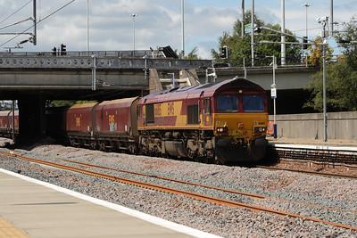 66185 passing through Cardonald on service 6G07 Hunterston to Longannet PS