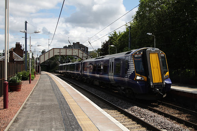 380102 at Johnstone with an Ardrossan Harbour service