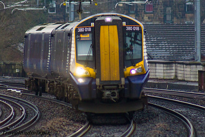 380018 Scotrail Paisley Gilmour Street 08/01/2016