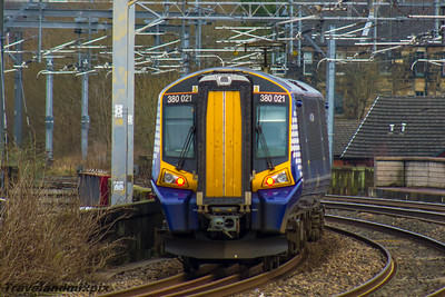 380018 Scotrail Paisley Gilmour Street 11/01/2016