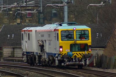 DR73932 SB Rail Paisley Gilmour Street 11/01/2016  Plasser and Theurer Unimat 08-4x4/4S RT tamper