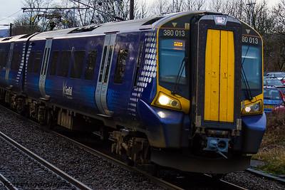 380013 Scotrail Johnstone 12/01/2016