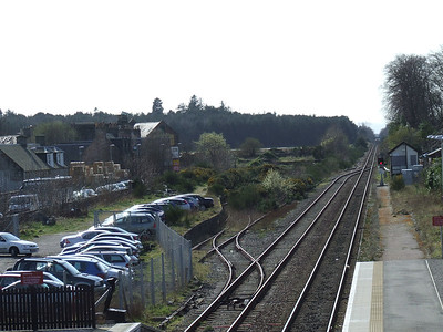 The disused sidings at Nairn Station