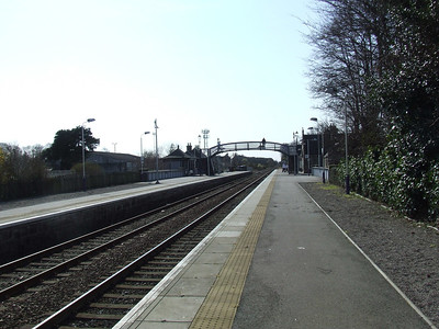 Nairn Station, looking towards Inverness