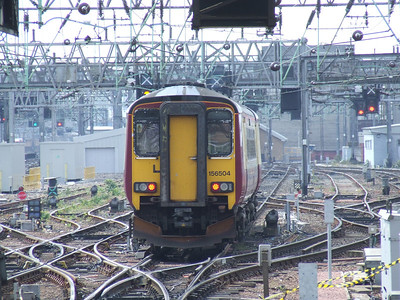 156504 departing Glasgow Central