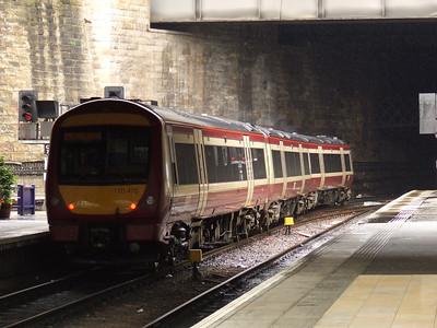 170470 departs Glasgow Queen Street
