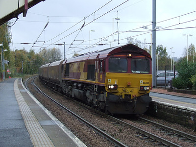 66053 passing through Johnstone on a coal service bound for Longannet Power Station
