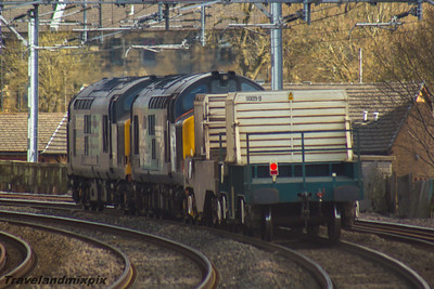 37612, 37423 Spirit Of The Lakes DRS Paisley Gilmour Street 24/02/2016