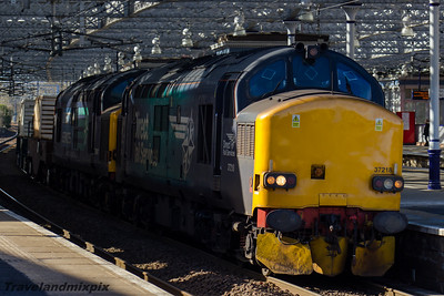37218, 37607 DRS Paisley Gilmour Street 09/03/2016