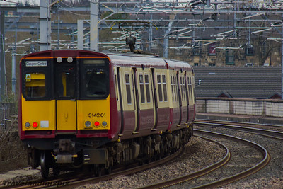 314201 Scotrail Paisley Gilmour Street 16/03/2016