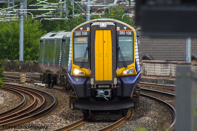 380106 Scotrail Paisley Gilmour Street 12/08/2015