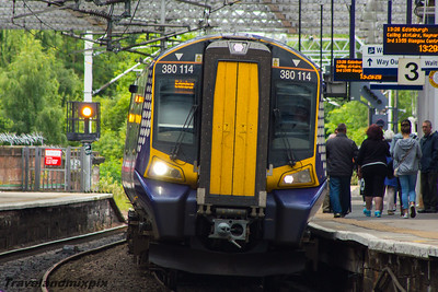 380114 Scotrail Paisley Gilmour Street 12/08/2015